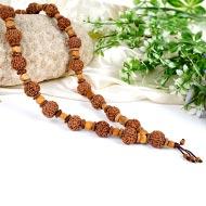 7 Mukhi Mahalakshmi Kantha - 27+1 beads