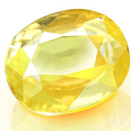 Yellow Sapphire - 4.19 carats