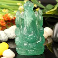 Ganesha in Fluorite - 113 gms
