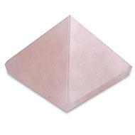 Pyramid in natural Rose Quartz - 51 gms