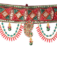 Peacock Designed Toran