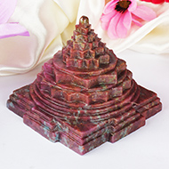 Ruby Shree Yantra - 828 gms