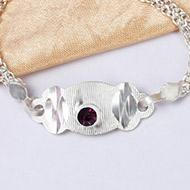 Pure silver Rakhi - Design XII