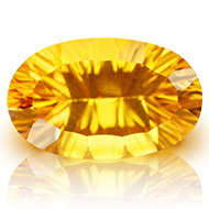 Yellow Citrine Superfine Cutting - 9.80 carats - Oval
