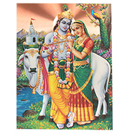 Radha Krishna Photo - Large I