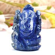 Lapis Lazuli Ganesha - 85 gms