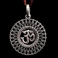 Om Locket in Pure Silver - 10.45 gms