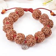 5 Mukhi Nepal Rudraksha beads bracelet - I