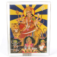 Goddess Durga Glittering Photo