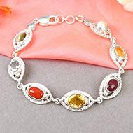 Mahashakti Ratna Kavacham - 3 to 4 carat gems - Ladies Design