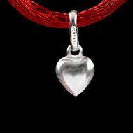 Heart Locket - in Pure Silver - Design III