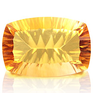 Yellow Citrine Superfine Cutting - 17.55 carats - Cushion