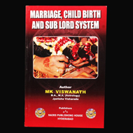 Marriage, Child Birth and Sub Lord System
