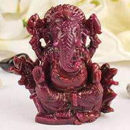 Ruby Ganesh - 2250 carats