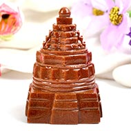 Shree Yantra in Sunstone - 134 gms