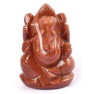 Sunstone Ganesha - 47 gms
