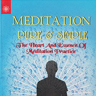 Meditation Pure and Simple