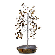Natural Labradorite Chakra Vastu Tree - Small