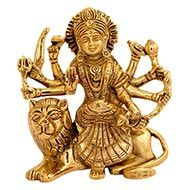 Maa Durga in Brass - IV