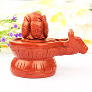 Pashupatinath Shivling in Sunstone - 421 gms
