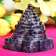 Shree Yantra in Blue Sodalite - 106 gms
