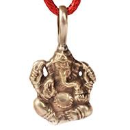 Ganesh Locket in Pure Silver - Design XV