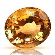Yellow Citrine - 33.75 carats - Oval