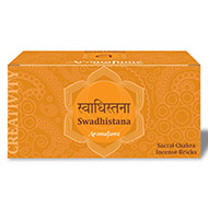 Aromafume Swadhistana Incense Bricks - Medium
