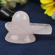 Rose Quartz Shivling - 65 gms