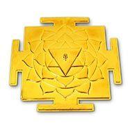 Siddh Meru Vishnu Yantra - Gold Polish