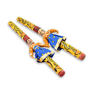 Dandiya Sticks - Design VI