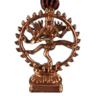 Natraj Locket in Punchdhatu