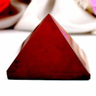 Pyramid in Red Jasper - VIII