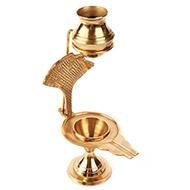 Brass Yoni base for shivl