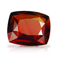 Hessonite Garnet - Gomed - 9 Carats - Cushion