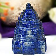 Lapis Lazuli Shree Yantra - 172 gms