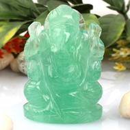 Ganesha in Fluorite - 96 gms
