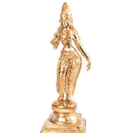 Goddess Shivagami in Bronze