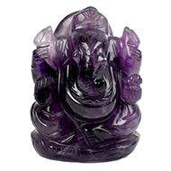 Ganesha in Amethyst - 82 gms - I