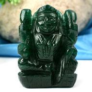 Laxmi in Green Jade - 93 gms