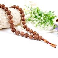 6 Mukhi Mangal Mala - 32+1 beads - Design II