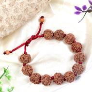 6 Mukhi Nepal Rudraksha beads bracelet