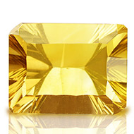 Yellow Citrine Superfine Cutting - 5.25 carats - Emerald