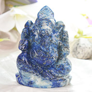 Lapis Lazuli Ganesha - 130 gms