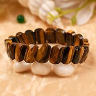 Tiger Eye Faceted Bracelet - II