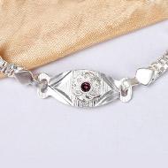 Pure silver Rakhi - Design XV
