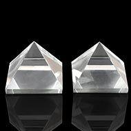 Sphatik Pyramid - Set of 2 - 27 gms