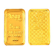 5 gm Pure Gold Coin - 24 carat