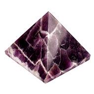 Pyramid in Natural Amethyst - 107 gms