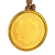 Matangi Yantra Locket - Gold Plated